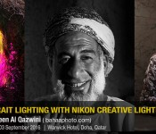 Portrait & Lighting with Creative Lighting System