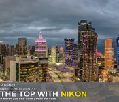 AT THE TOP with Nikon
